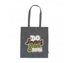 Recycled Cotton Shopper (180 g/m²) tas bedrukken